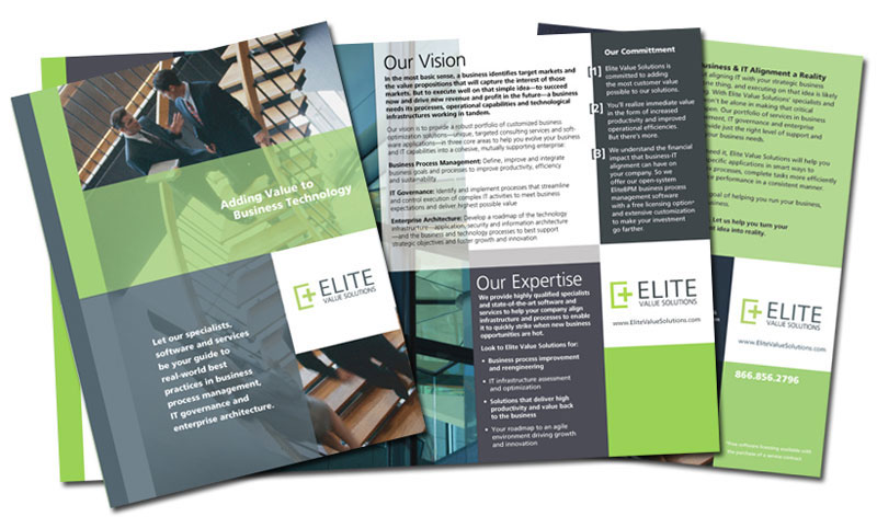 award winning brochure designs - brochures graphic design firm specializing in award